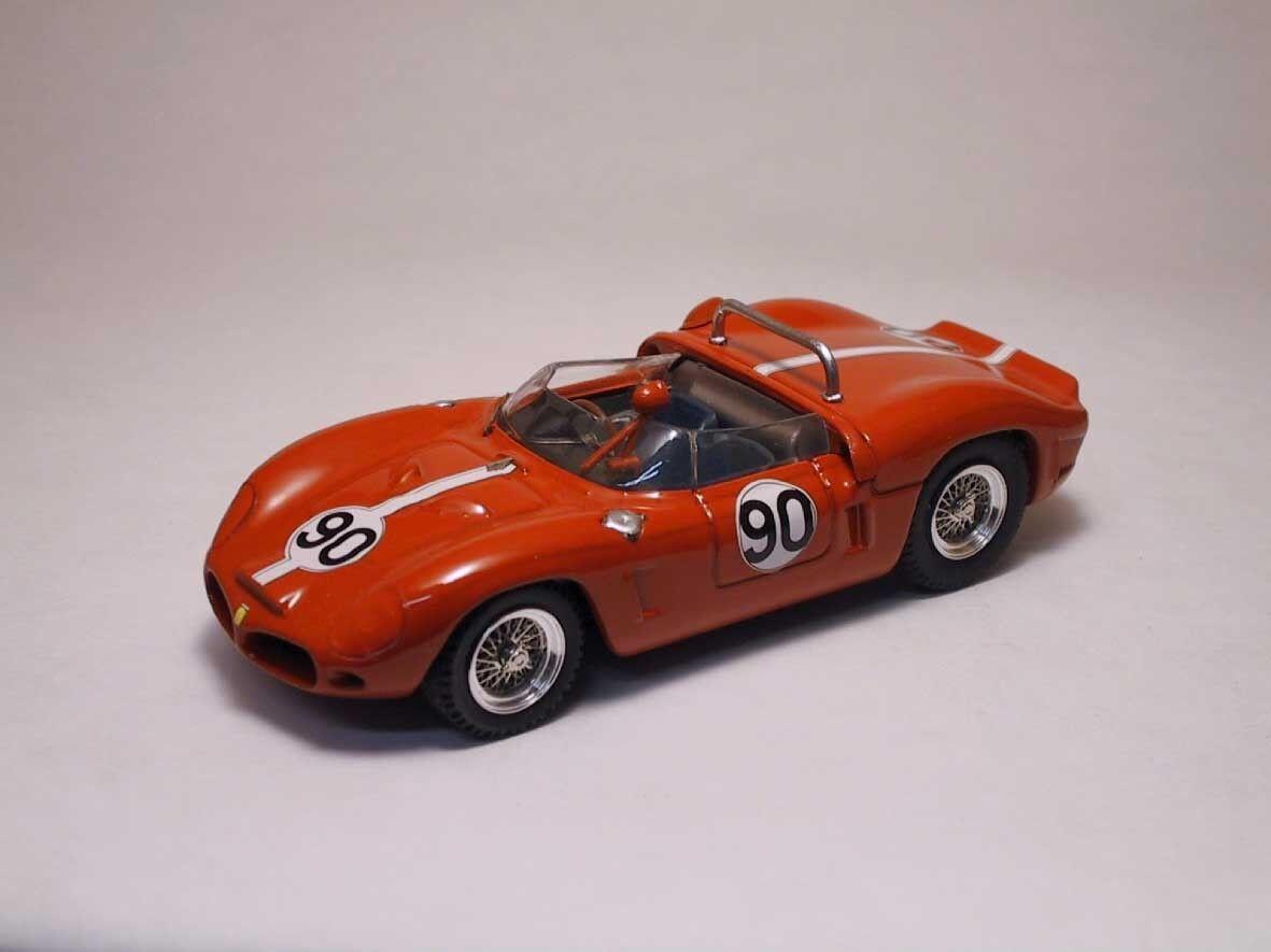 Ferrari Dino 196SP  90 15th (2nd Class) Nassau 1963 B. Grossman 1 43 Model 0090
