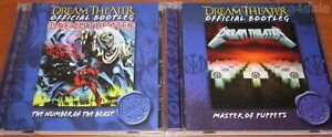 2CD-set-DREAM-THEATER-The-Number-Of-The-Beast-amp-Master-Of-Puppets