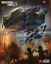 LEGO Toys R Us Millennium Falcon Kylo Ren Master Your Force Poster 6144425