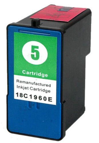 Non-OEM For Lexmark No 5 Colour Printer Ink Cartridge 18C1960