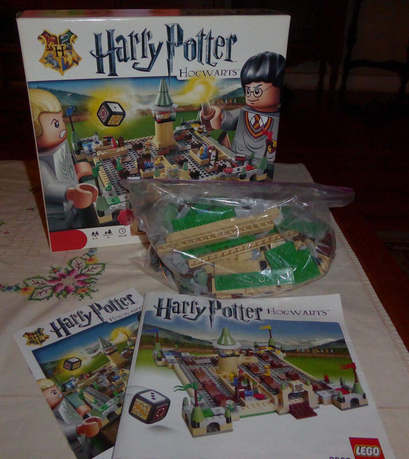 Lego - Games - Harry Potter Hogwarts Hogwarts Hogwarts - Complete   Retired 10a120
