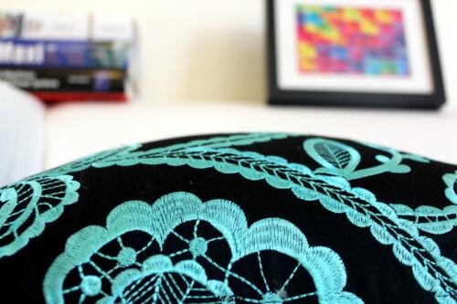 Embroider  Gradient Kamusi Home DECOR COTTON LINEN CUSHION COVER PILLOW CASE
