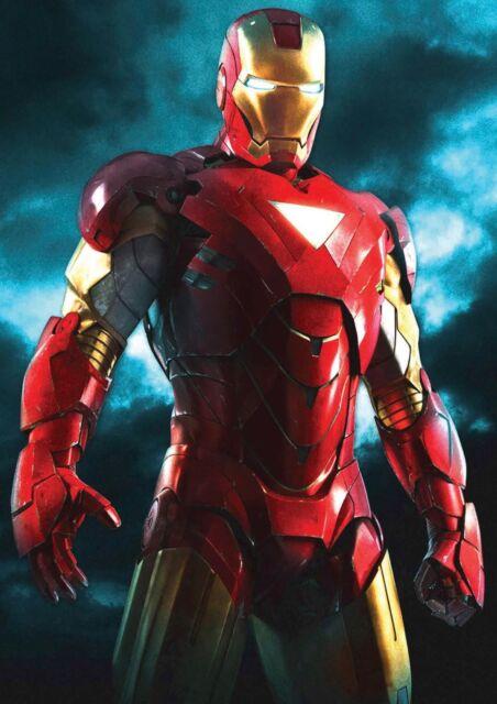 IRON MAN Movie PGOTO Print POSTER Robert Downey Jr Tony Stark 2008 Marvel 002