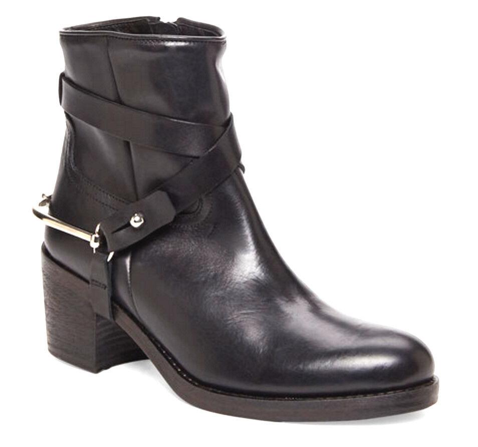 acquista online EL CAMPERO CAMPERO CAMPERO donna nero LEATHER ANKLE RIDING stivali 40   10 NEW  varie dimensioni
