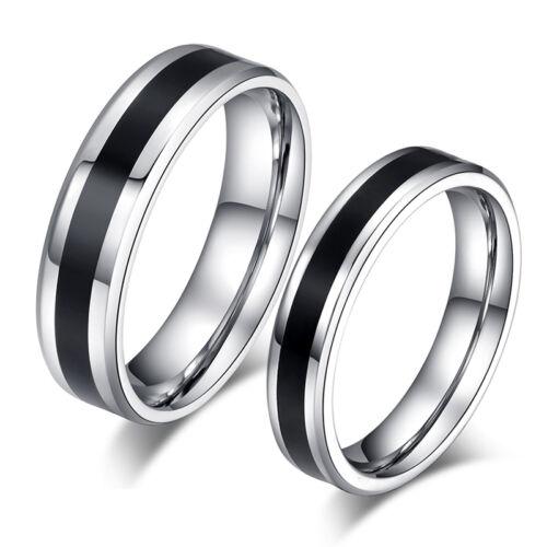 2 Partner Ringe Eheringe Trauringe Verlobungsringe Freundschaftsringe Edelstahl