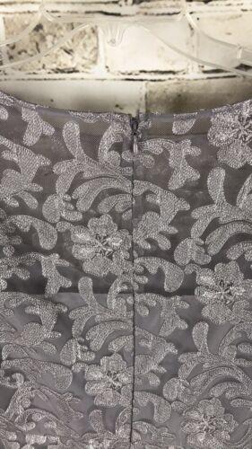 Floral Crescent Romper 4 Lace Dakota Taglia Silver Bb vqHF8F