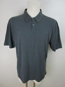 NEU-Selezione-Grigio-Napoli-Herren-Poloshirt-Polohemd-Gr-XXL-Grau-Kurzarm-Cotton