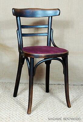 Chaise bistrot FISCHEL 1938 no baumann no thonet | eBay