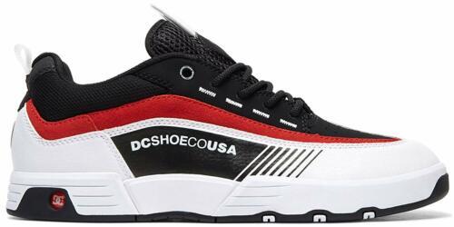 DC Men/'s Legacy 98 Slim Skateboarding Skate Shoes Black//White//Red