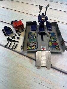 Optimus Prime 1984 Vintage Hasbro G1 Transformers 95% Complete