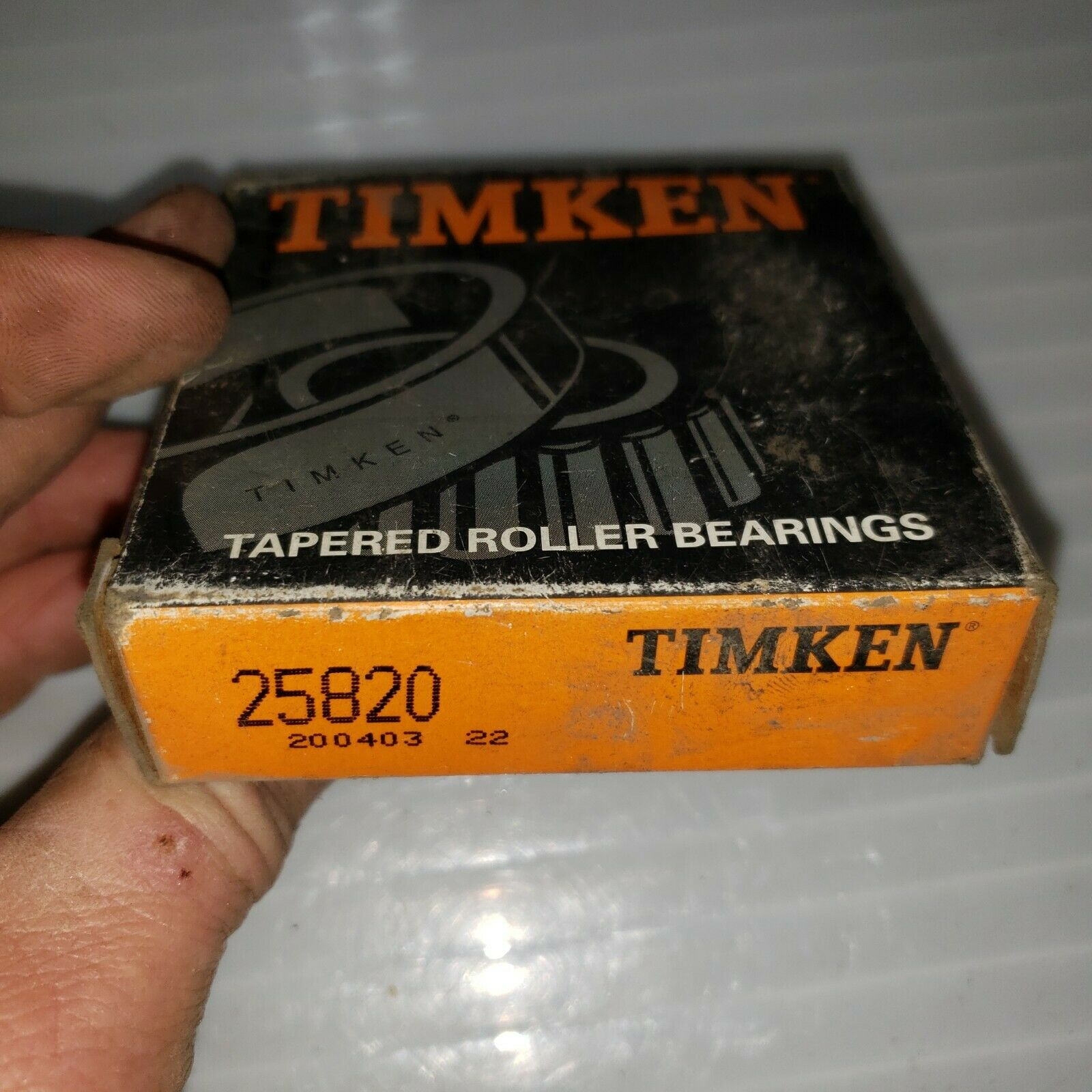 REAR NIB ***MAKE OFFER*** 4 NEW TIMKEN 25820 WHEEL RACE FRONT OUTER