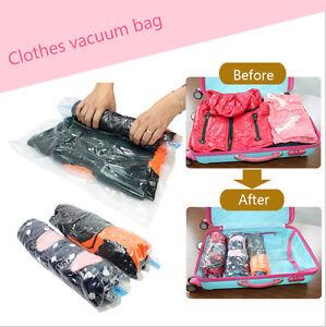 SPACE SAVING VACUUM STORAGE BAGS EXTRA LARGE JUMBO SEAL CLOTHES BAG VACCUUM VAC