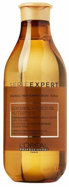 L'Oreal Serie Expert Glycerol + Coco Oil Nutrifier Shampoo 300ml