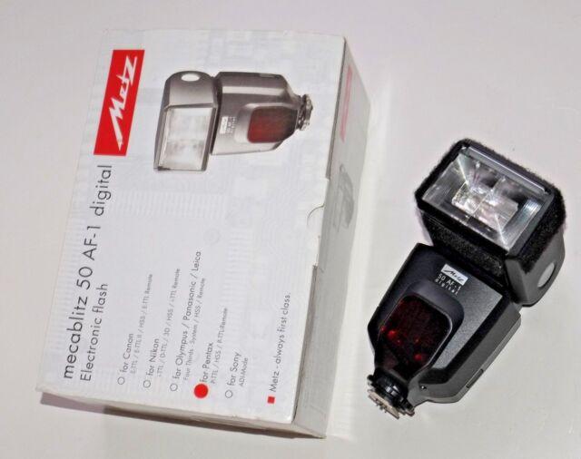 Metz mecablitz 64 Af-1 Digital Flash-Sony interfaz Multi Fit