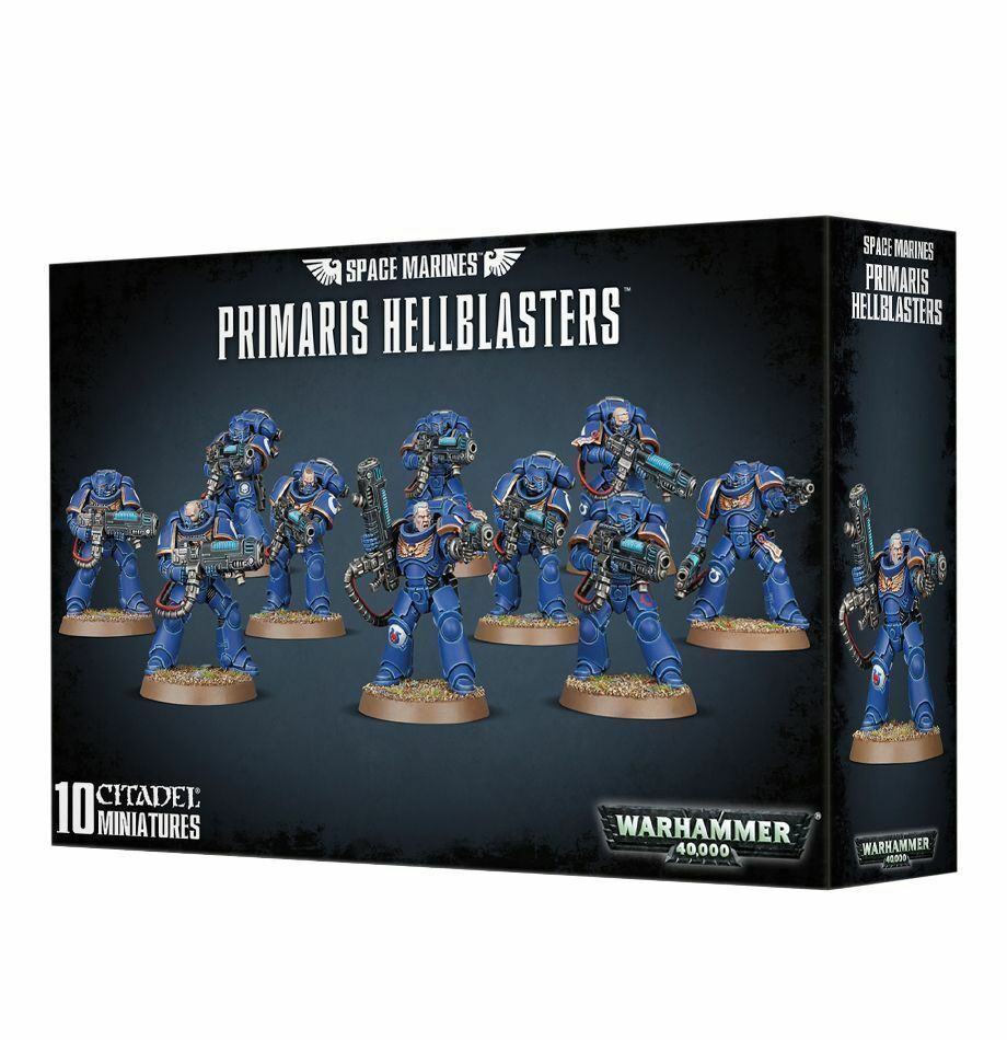 Warhammer 40k - space marine primaris hellblasters - brand new in box - 48-76