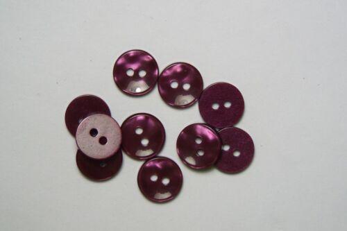 10pc 11mm violet rouge vin cardigan pantalon shirt kids baby bouton 0544