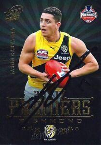 Signed-2017-RICHMOND-TIGERS-AFL-Premiers-Card-JASON-CASTAGNA