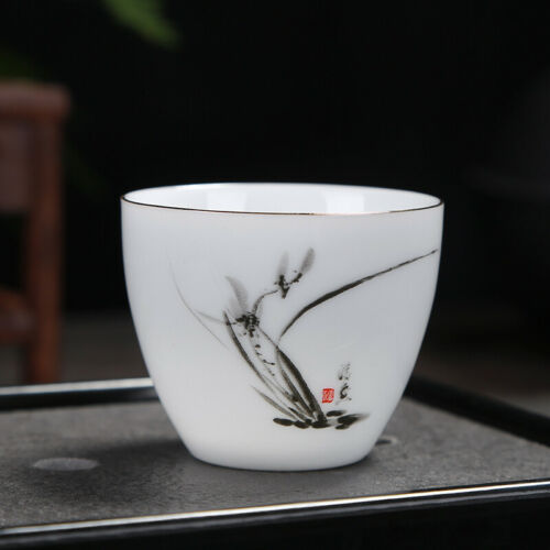 on sales porcelain tea cup white china master cup handpainted China cup of tea