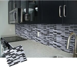 Strange Details About Diy Mosaic 3D Self Adhesive Wall Tile Sticker Vinyl Bathroom Kitchen Home Decor Interior Design Ideas Truasarkarijobsexamcom