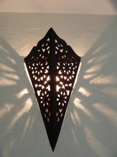 applique murale Marocaine fer forgé ap2 lampe lustre lanterne oriantale 44 cm