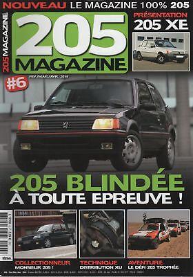 205 Magazine 6 Peugeot 205 Gti Blindee De Bernard Arnaud 205 Champion Trophee Professioneel Ontwerp