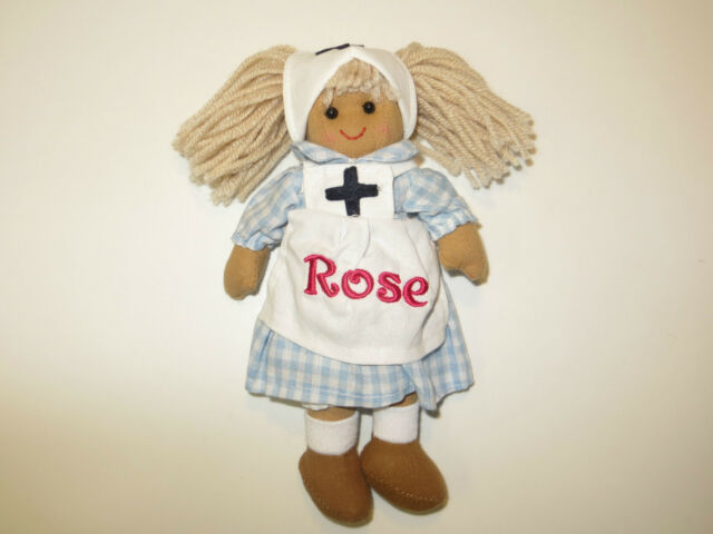 Mini Rag Doll - 19cm Personalised Name