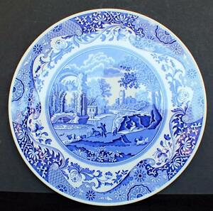 Image is loading Vintage-SPODE-Blue-Room-Collection-Series-BLUE-ITALIAN-  sc 1 st  eBay : spode cake plate - pezcame.com