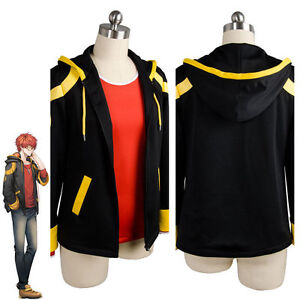 Custom Made Game Mystic Messenger 707 cosplay costume inner and coat only A.010