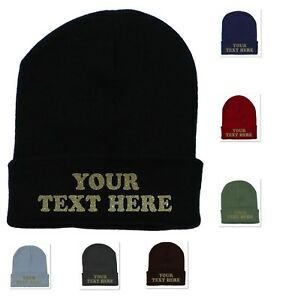 GLITTER PERSONALIZED CUSTOM PRINT YOUR OWN TEXT ON A BEANIE CAP HAT ... f2dc676f0