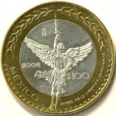 2006 Mexico 100 Pesos Chihuahua BiMetallic KM 775