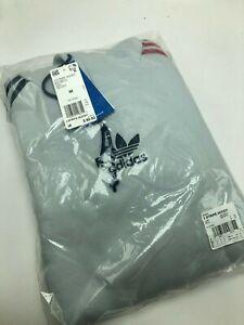 Details about Men's Adidas Originals 3 STRIPE HOODY CLEAR GREY EC3673, Sz S XXL