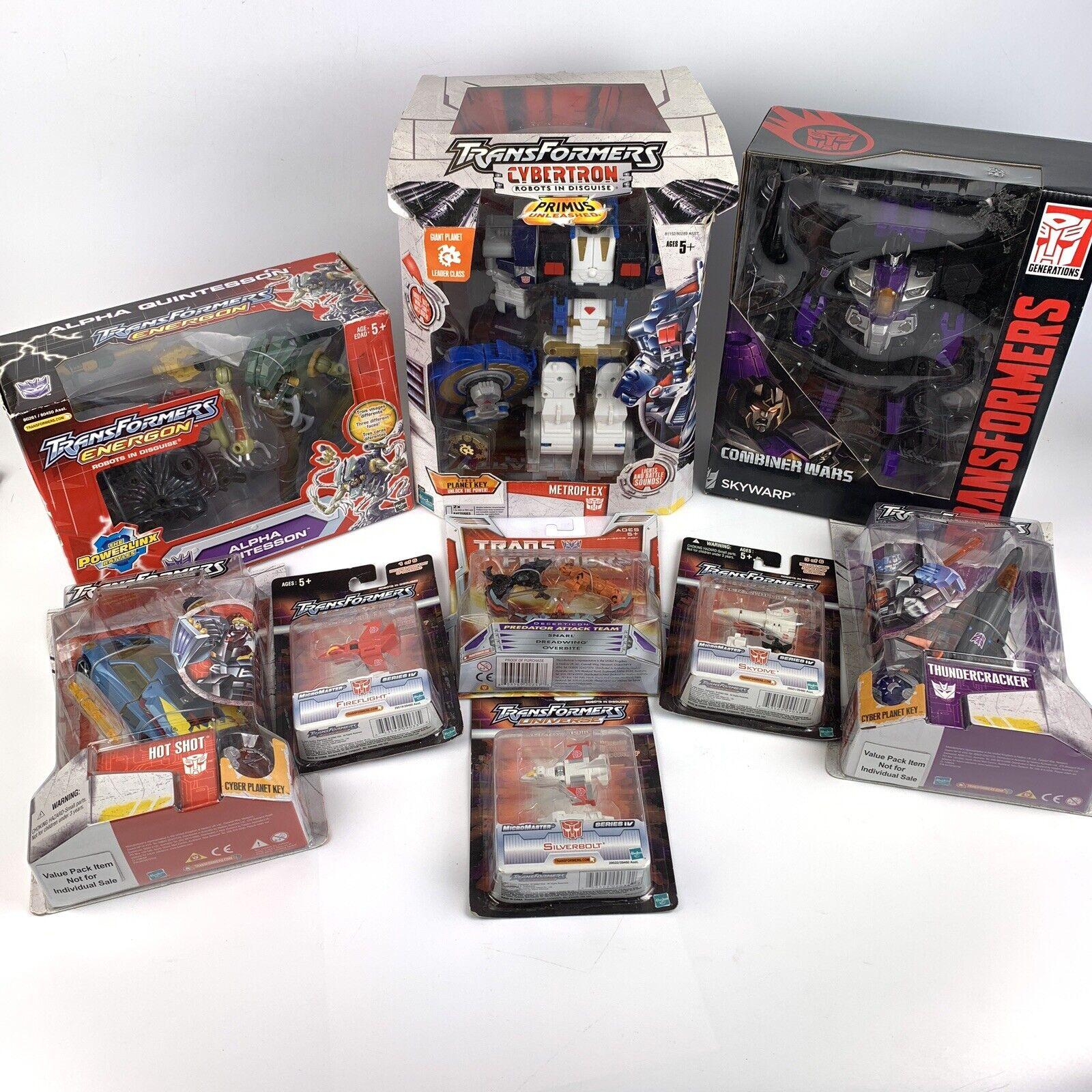 Transformers, 9  United War, Energy, Cybertron Airways, 2005.