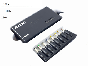 Alimentatore Universale Per PC Notebook 100-120-150W Laptop Charger + ADATTATORI