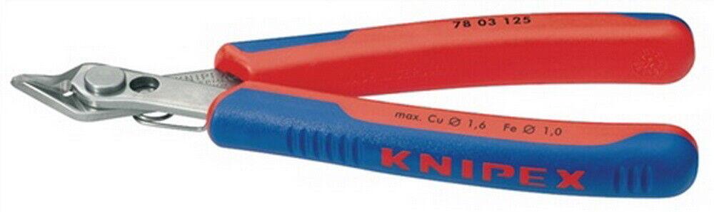 Elektronikseitenschn. SuperKnips DIN ISO9654 L125mm spitz m.sehr kl. für Knipex | Gutes Design  | Neues Produkt  | Outlet Online Store  | Ausgezeichnete Qualität