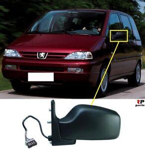 Para-Peugeot-806-94-02-Nuevo-Ala-Espejo-electrico-climatizada-de-ancho-de-Vidrio-Izquierda-N-S-LHD