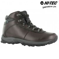 LADIES Hi Tec EUROTREK LEATHER WATERPROOF WALKING HIKING TRAINERS SHOES BOOTS 4