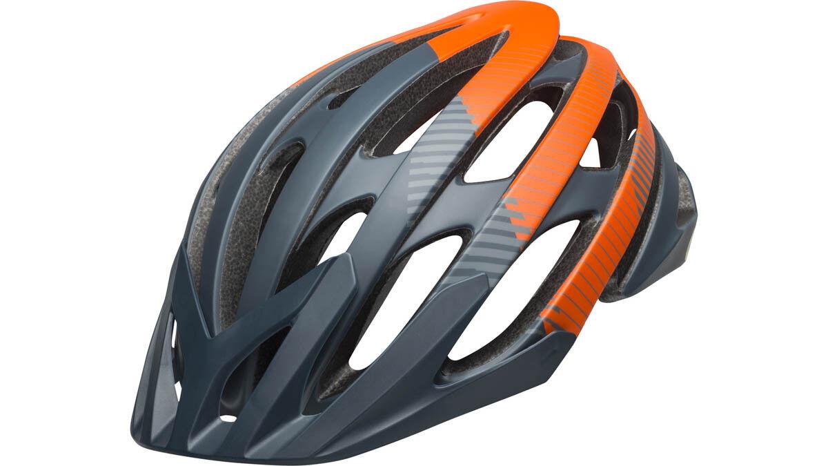 Bell Catalyst MIPS XC MTB Fahrrad Helm grey orange 2019