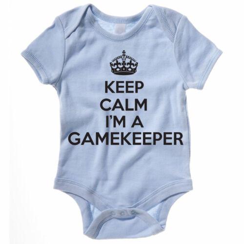 Novedad temática Baby crecer Keep Calm soy un guardabosques-Juego Caza Suit