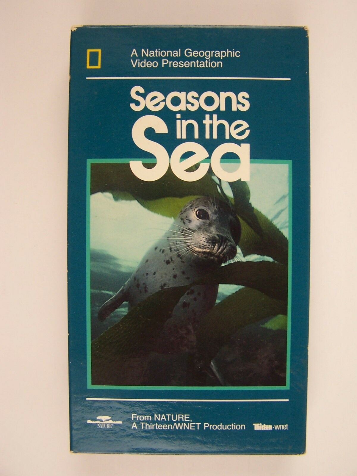 Seasons in the Sea National Geographic Video VHS Tape
