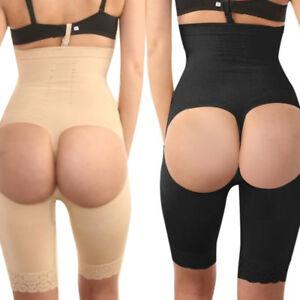 0ae8de928b Women Thigh Slimmer Tummy Control Body Shaper High Waist Shapewear ...