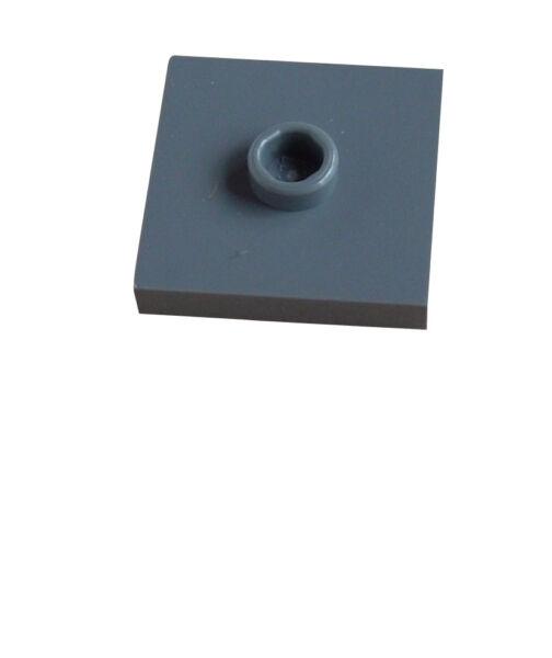 GéNéReuse Lego 20 Gris Foncé Carrelage 2 X 2 Avec Came 87580 Neuf Carreau Dark Bluish Gray AgréAble Au Palais