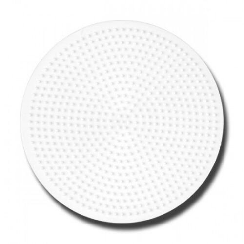 HAMA midi Bügelperlen-Stiftplatte weiß Nr.221 Kreis groß