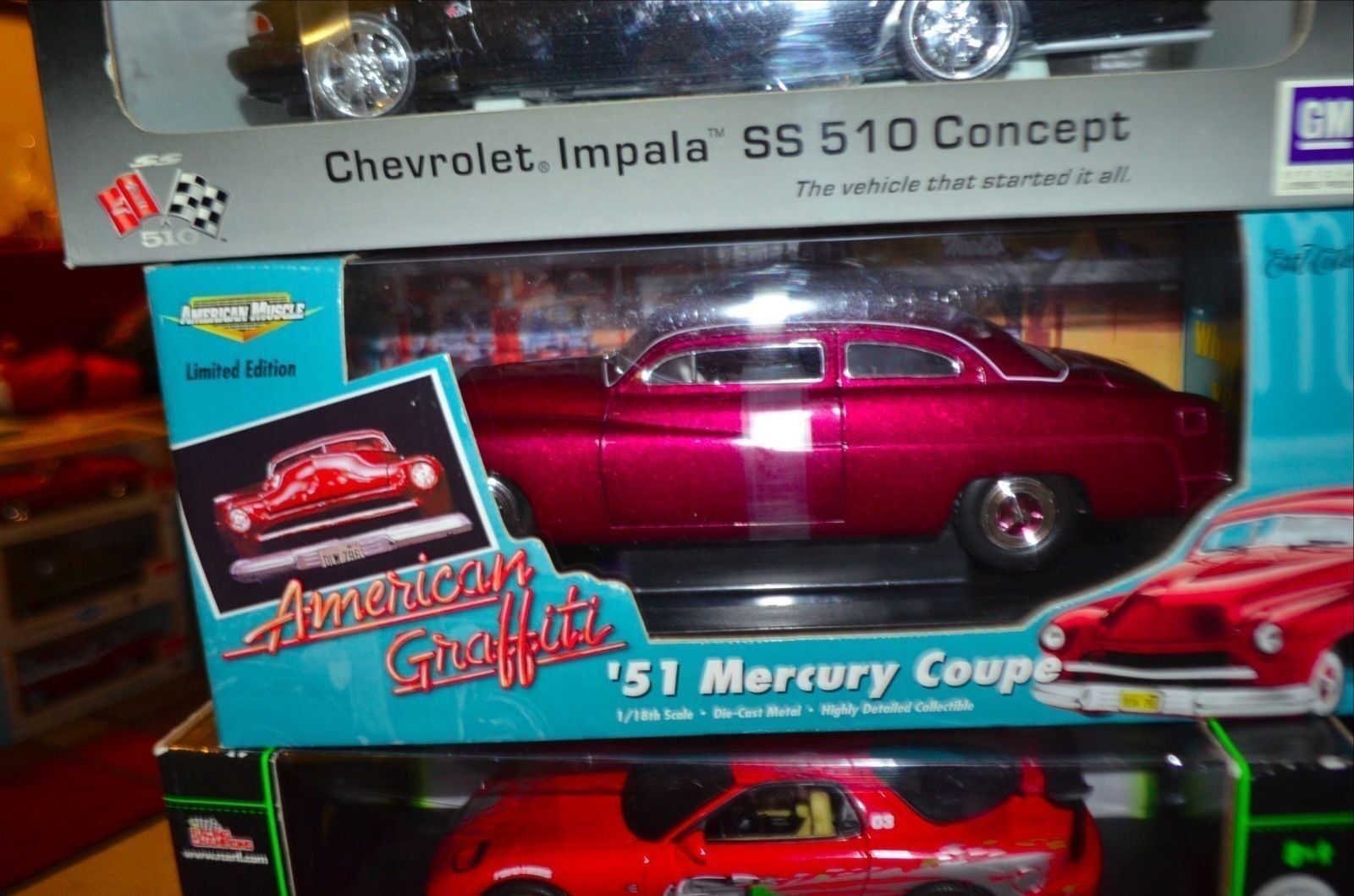 1 18 Ertl American Graffiti 1951 Mercury Coupe Limited Edition - Die Rare