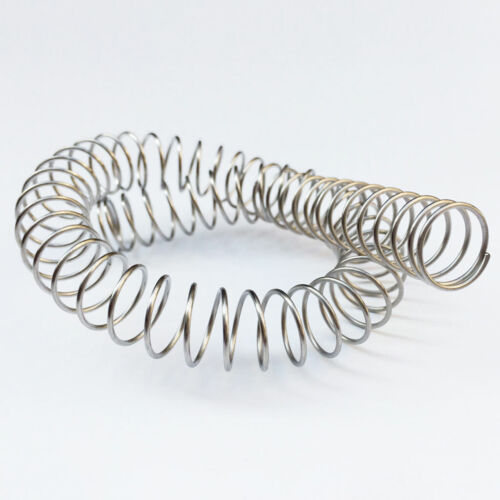 1mm Wire Compression Spring 304 Stainless Steel Pressure Springs 60-305mm Length