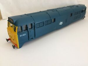 Grosses Soldes Airfix 00 Class 31 Blue Brush Type 2 Diesel Loco Body A1a-a1a 31401 Vgc
