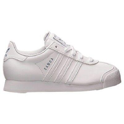 adidas Samoa C Little Kids Shoes Running White//Running White//Silver g99721
