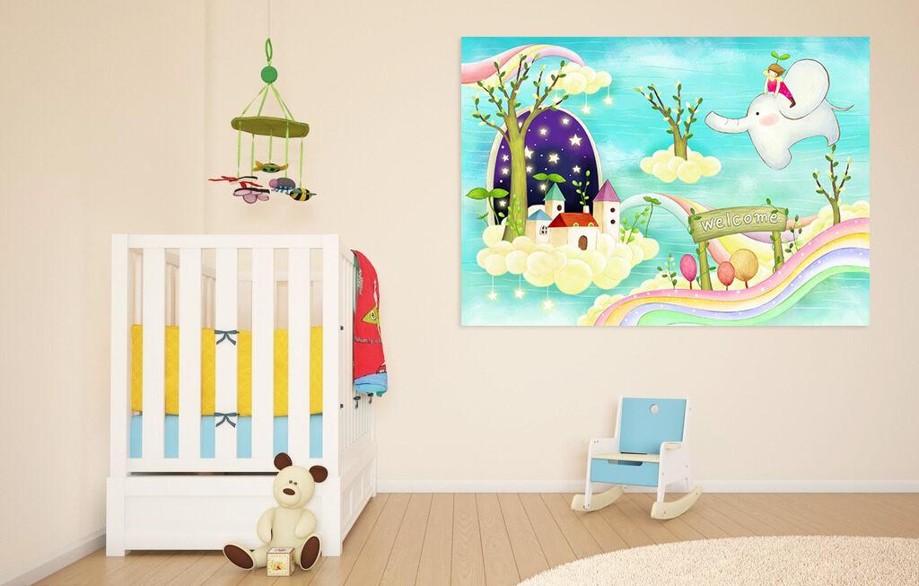 3D Angel Lodge Elefant Himmel 9 Fototapeten Wandbild BildTapete AJSTORE DE Lemon