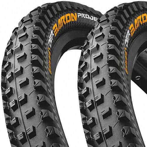 Apex 27,5 65-584 2x Continental Reifen Der Baron 2.6 Projekt TLR E-25 Falt ProT
