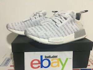 Details about Adidas Originals NMD R1 White Out Three 3 Stripes Japanese S76518 Men size 8 13