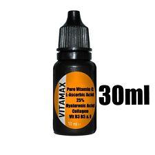 Vitamin C 25% Serum Hyaluronic acid 100% Collagen 50% Vitamin B3 B5 & E Buy2Get3